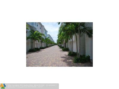 Pompano Beach Condo/Townhouse For Sale: 473 NE 1st St #14