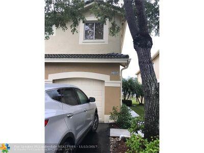 Weston Condo/Townhouse For Sale: 2355 Pasadena Way #2355