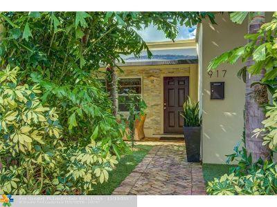 Fort Lauderdale Single Family Home For Sale: 917 NE 16 Te