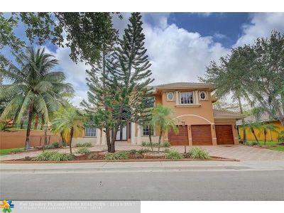 Fort Lauderdale Single Family Home For Sale: 3624 Estate Oak Cir