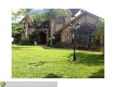 Coral Springs Single Family Home For Sale: 5144 NW 83rd Ln