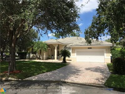Coral Springs Rental For Rent: 6420 NW 42nd Ct