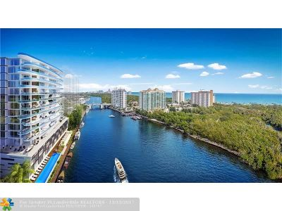 Fort Lauderdale Condo/Townhouse For Sale: 920 Intracoastal Dr #1003