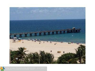 Pompano Beach Condo/Townhouse For Sale: 111 N Pompano Beach Blvd #814