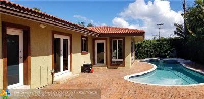 Fort Lauderdale Single Family Home For Sale: 2648 NE 35th St