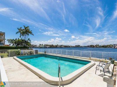 Pompano Beach Condo/Townhouse For Sale: 1105 S Riverside Dr #102