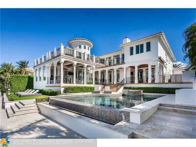 Boca Raton Single Family Home For Sale: 201 NE Spanish Trl