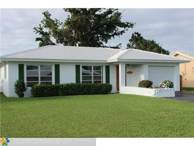 Tamarac Single Family Home For Sale: 10302 NW 80th Dr