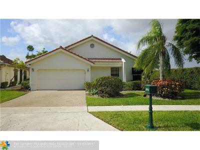 Boca Raton Single Family Home For Sale: 10714 Crystal Lake Dr