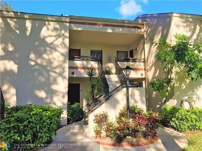 Plantation Condo/Townhouse For Sale: 9862 NW 3rd St #9862