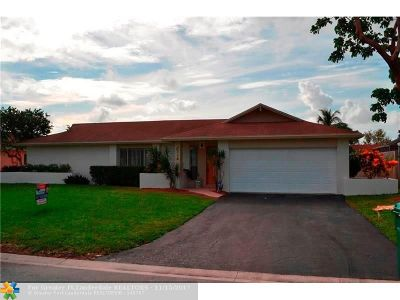 Coral Springs Rental For Rent: 2714 NW 98th Ter