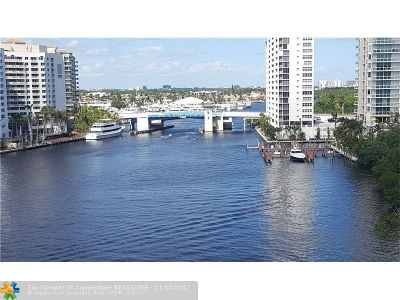 Fort Lauderdale Condo/Townhouse For Sale: 777 N Bayshore Dr #902