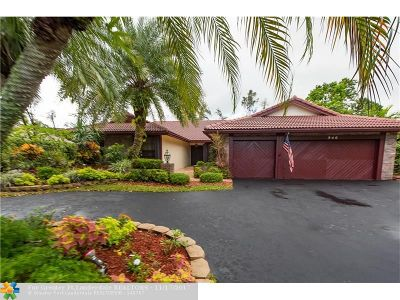 Coral Springs Single Family Home For Sale: 940 NW 110th Ln
