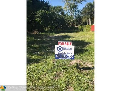 Deerfield Beach Residential Lots & Land For Sale: 265 NW 1st Ave