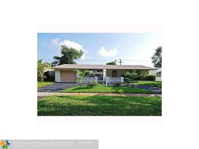 Broward County Single Family Home For Sale: 4721 W Park Rd