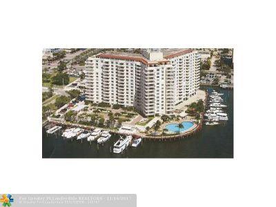 Fort Lauderdale Condo/Townhouse For Sale: 1 Las Olas Circle #816