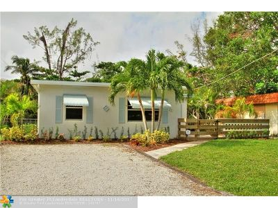 Fort Lauderdale Single Family Home For Sale: 1917 SW 28th Way