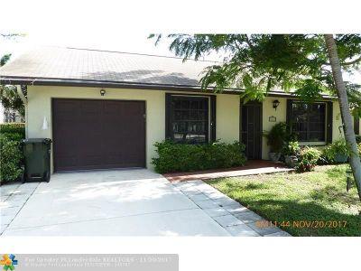 Delray Beach Single Family Home For Sale: 2710 Azalea Ct