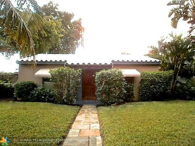 Fort Lauderdale Single Family Home For Sale: 1501 NE 2nd Ave