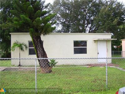 Fort Lauderdale Single Family Home For Sale: 730 NW 15th Terrace