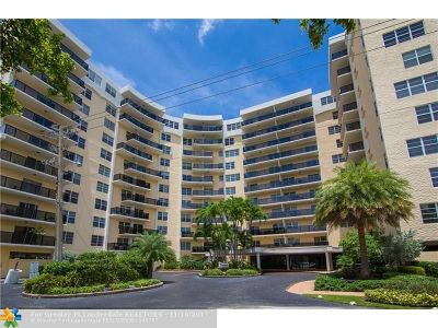 Fort Lauderdale Condo/Townhouse For Sale: 5100 Dupont Blvd #8N