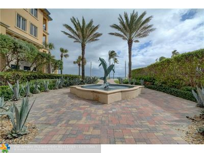 Broward County Condo/Townhouse For Sale: 3501 N Ocean Dr #6C