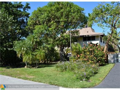 Fort Lauderdale Single Family Home For Sale: 1549 SE 14th St