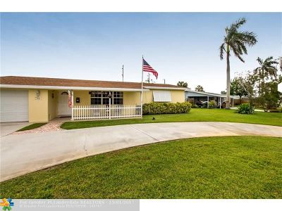 Deerfield Beach Single Family Home For Sale: 1162 S Deerfield Ave