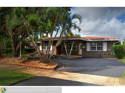 Wilton Manors Single Family Home For Sale: 817 NW 30th St