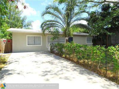 Pompano Beach Single Family Home For Sale: 1620 NE 1st Ave
