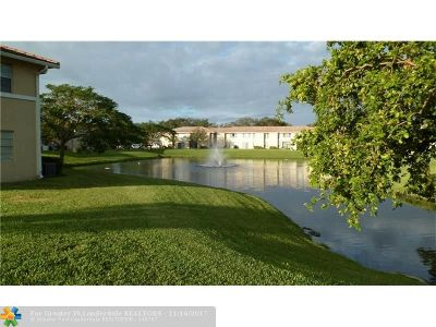 Coral Springs Rental For Rent: 10020 Twin Lakes Dr #10020
