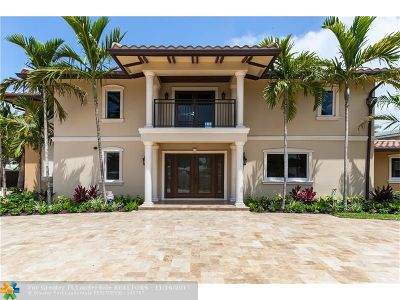 Fort Lauderdale Single Family Home For Sale: 2440 Bayview Dr