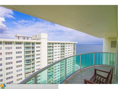 Condo/Townhouse For Sale: 3400 Galt Ocean Dr #PH7S