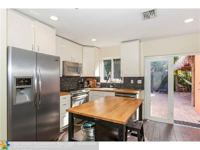 Fort Lauderdale Single Family Home For Sale: 1500 SW 22nd St