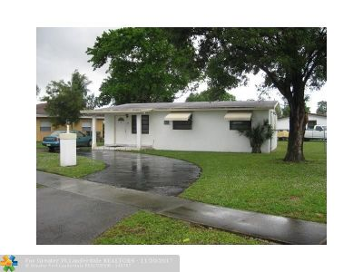 Fort Lauderdale Single Family Home For Sale: 1909 NW 16th St