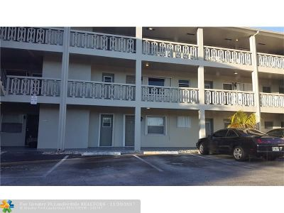 Plantation Condo/Townhouse For Sale: 4740 NW 10th Ct #210
