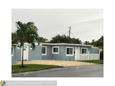 Fort Lauderdale Multi Family Home For Sale: 300 NW 16 St