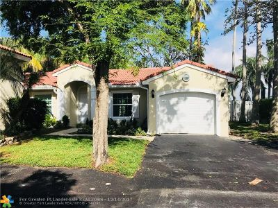 Coconut Creek Single Family Home For Sale: 6151 NW 44th Ln