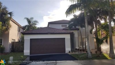 Coconut Creek Single Family Home For Sale: 5400 NW 49th Ave
