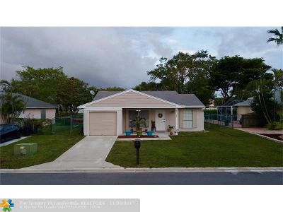 Boca Raton Single Family Home For Sale: 23272 New Coach Way