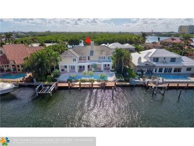 Ocean Ridge Single Family Home For Sale: 11 Inlet Cay Dr