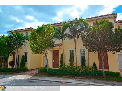 Boynton Beach Condo/Townhouse For Sale: 478 Lauren Pine Pl #478