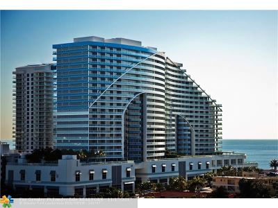 Broward County Condo/Townhouse For Sale: 3101 Bayshore Dr #2103