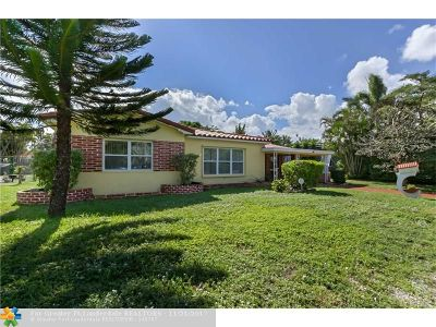 Wilton Manors Single Family Home For Sale: 316 NE 24th St