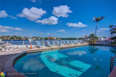 Fort Lauderdale Condo/Townhouse For Sale: 2727 Yacht Club Blvd #3E