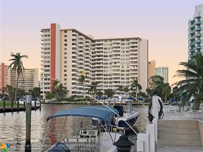 Fort Lauderdale Condo/Townhouse For Sale: 3233 NE 34th St #721