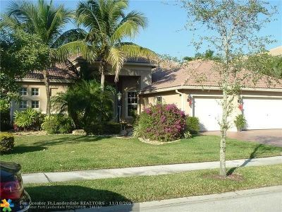 Parkland Single Family Home For Sale: 10995 NW 71st Ct