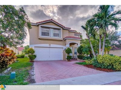 Coral Springs Single Family Home For Sale: 12380 NW 54th Ct