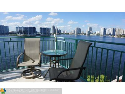 Sunny Isles Beach Condo/Townhouse For Sale: 18000 N Bay Rd #803