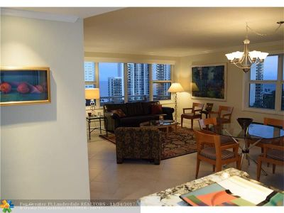 Fort Lauderdale Condo/Townhouse For Sale: 3333 NE 34th St #1415